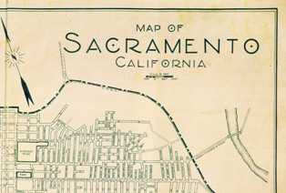 old sacramento map